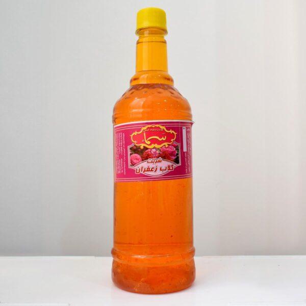 شربت گلاب و زعفران - 1 لیتری
